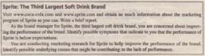Sprite The Third Largest Soft Drink Brand